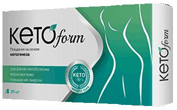 Капсулы KetoForm.