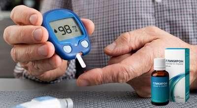 Препарат Гликирон от диабета.
